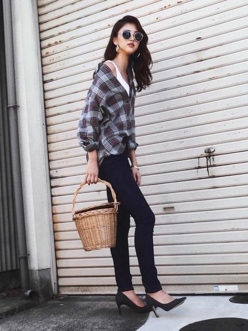 大人女子のネルシャツはこのブランドで選ぶ。コーデ例も紹介の3枚目の画像