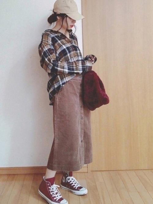 大人女子のネルシャツはこのブランドで選ぶ。コーデ例も紹介の9枚目の画像