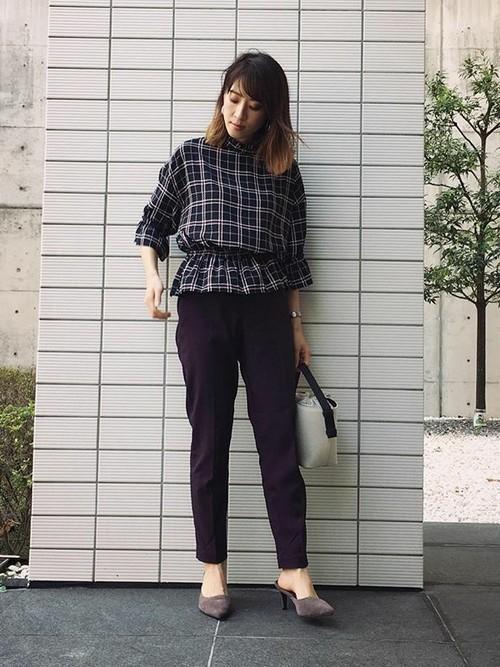 大人女子のネルシャツはこのブランドで選ぶ。コーデ例も紹介の10枚目の画像