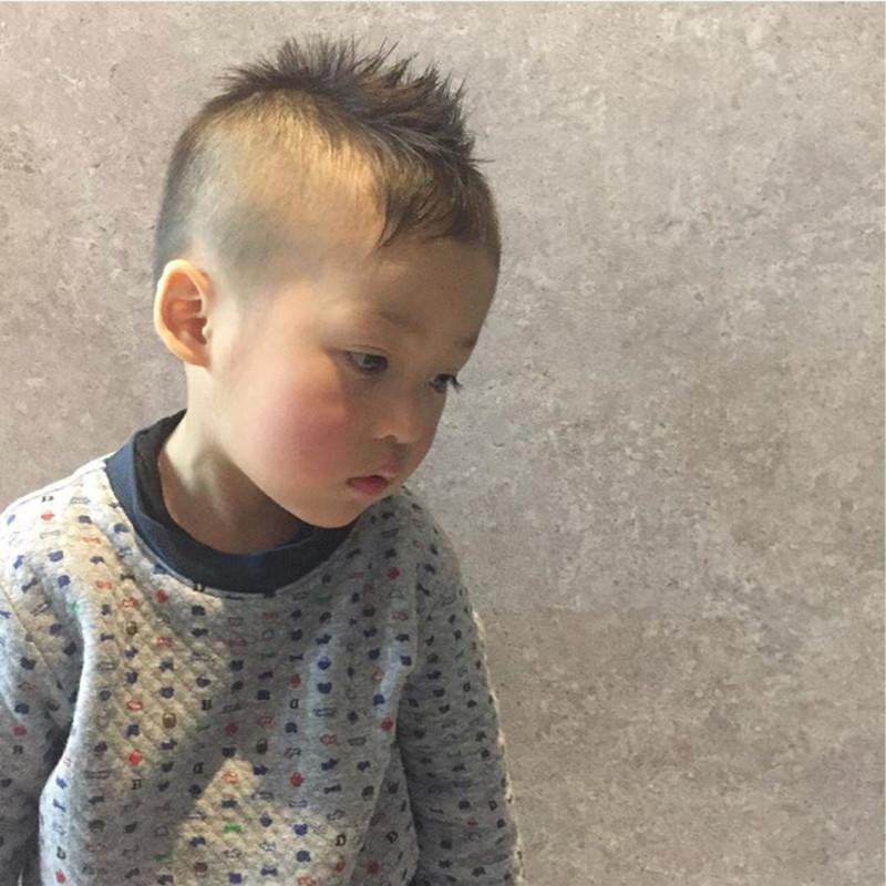 髪型 男の子 一 歳