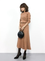 【シーン別8選】クリスマスのデート服は特別感のある女っぽさが大切