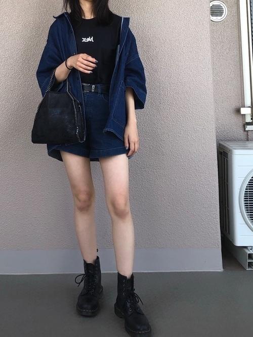 ストリートスタイルならX-girlに任せて♡Tシャツコーデを紹介の3枚目の画像