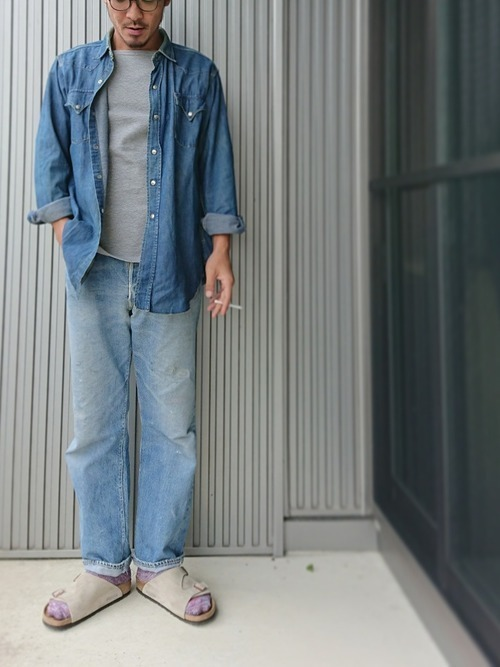 大人の着こなしを極める!ヴィンテージデニムのメンズコーデ11選の13枚目の画像