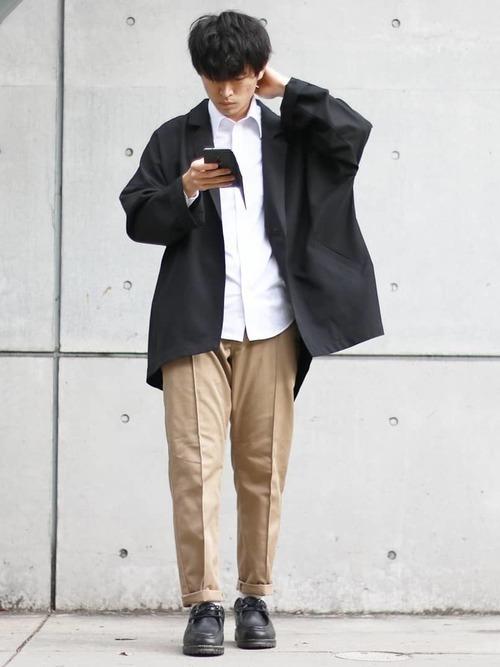 【メンズ必見】チノパン×ジャケットの春夏秋冬別コーデ22選♡