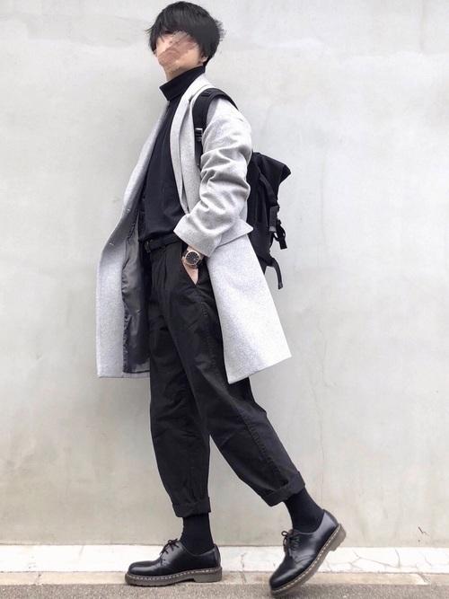 着回し力ばつぐん!【黒パンツ】のオトナレディースコーデ60選♡の46枚目の画像
