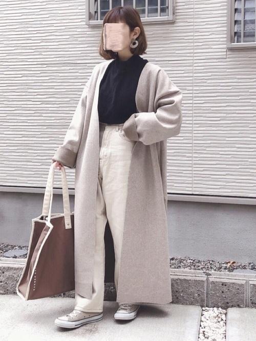 【女子大学生必見】通学にぴったり♡A4入るレディーストートバッグの1枚目の画像