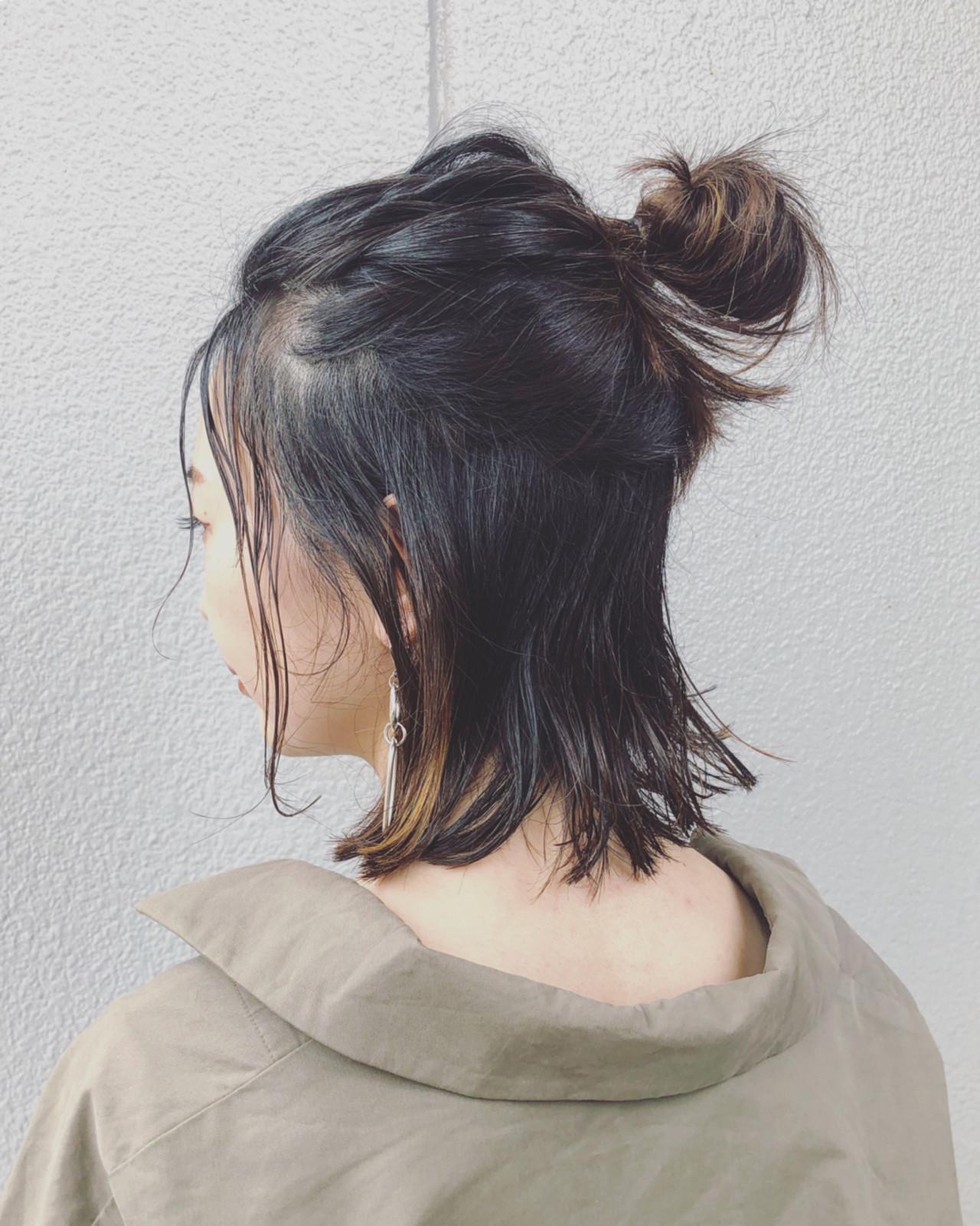 【着物×ショートヘア】モダンでおしゃれなヘアアレンジ9選の9枚目の画像