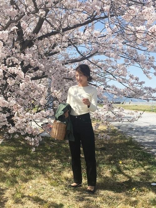 お花見シーズン到来!お花見コーデの注意点と桜に合う人気コーデ特集