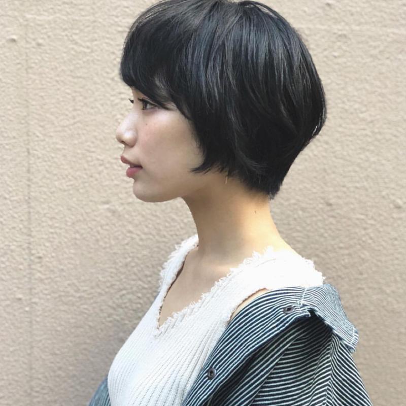 【2020最新】黒髪&暗髪×ショート・ショートボブ集