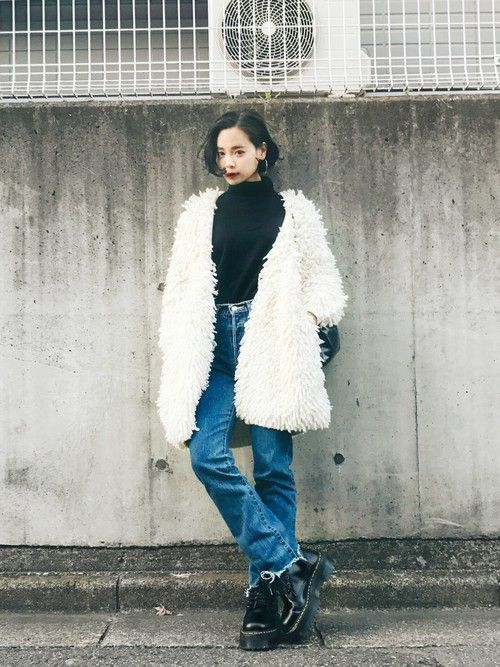 「ワンレンボブ ファッション」の画像検索結果