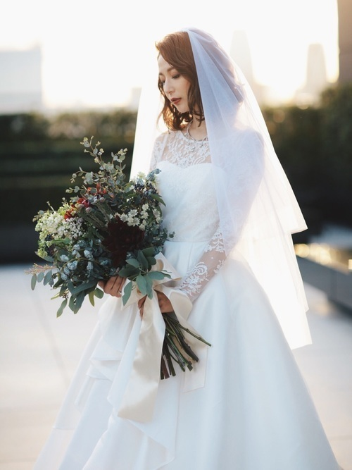 【2020ブライダルメイク】一度きりの結婚式は最高にきれいな私で