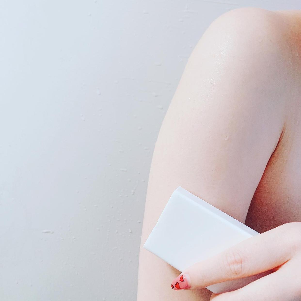 ペリカン石鹸 二の腕ザラザラを洗う重曹石けん(その他洗顔料)を使ったクチコミ(3枚目)