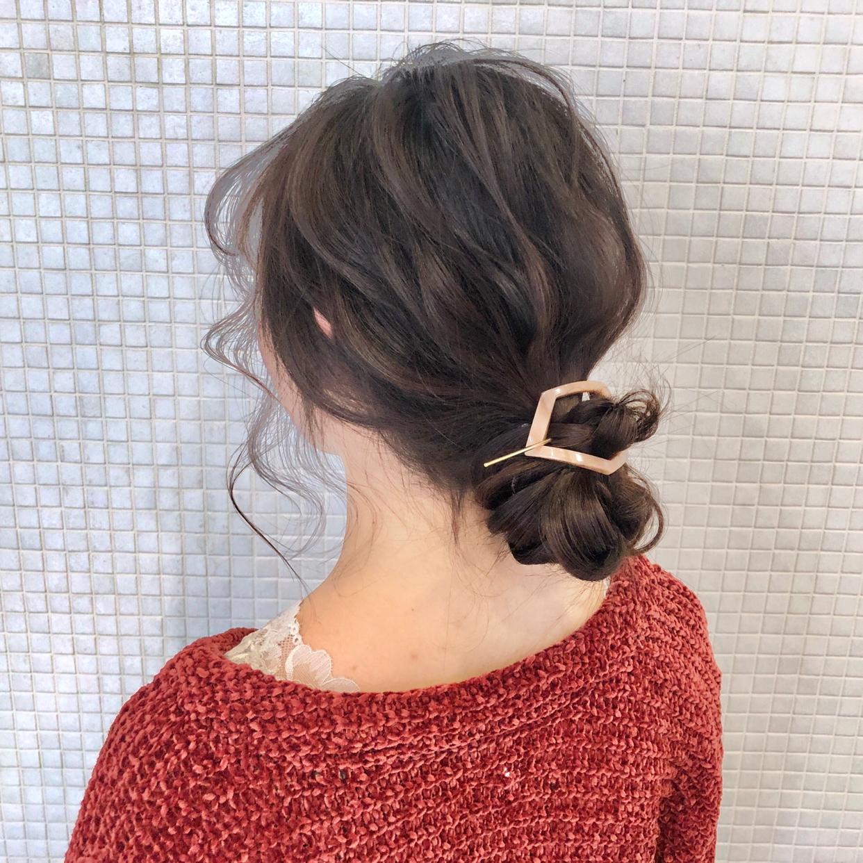 大学生髪型