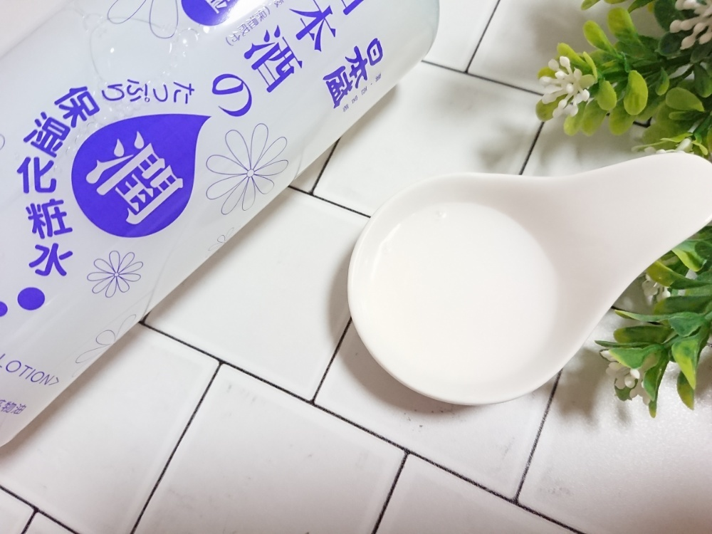 日本盛 日本酒のたっぷり保湿化粧水 しっとり 500ml(化粧水)を使ったクチコミ(2枚目)
