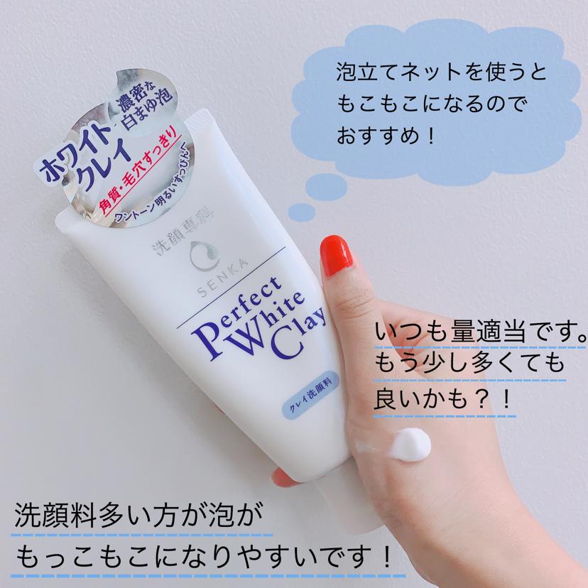 専科 洗顔専科 パーフェクト ホワイトクレイ / 洗顔専科(その他洗顔料)を使ったクチコミ(2枚目)