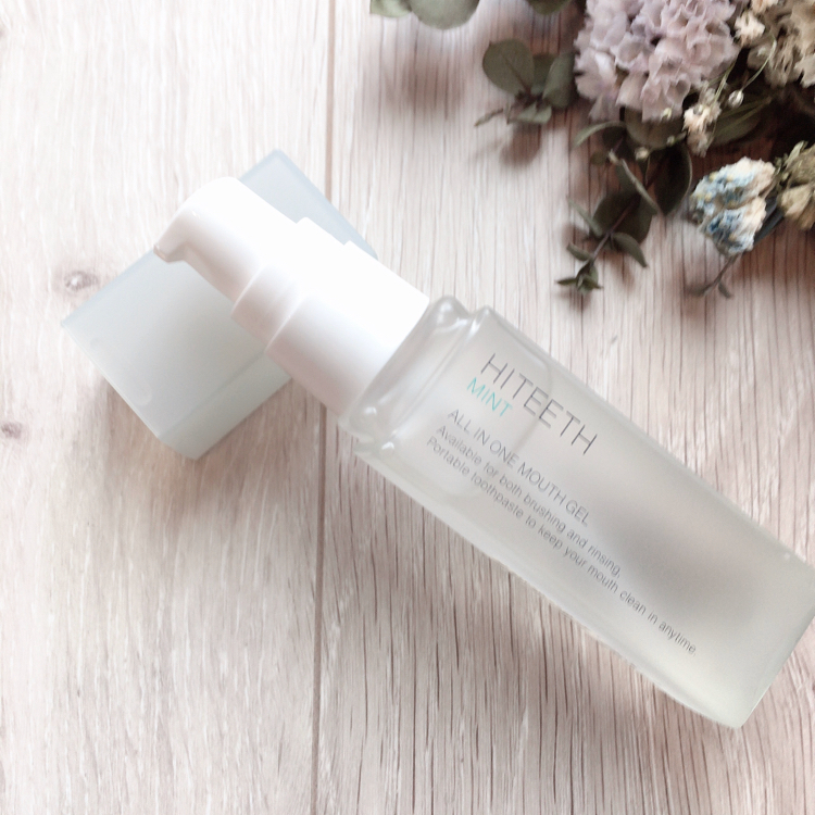 RBP REAL BEAUTY PRODUCT HITEETH ALL IN ONE MOUTH GEL MINT 35ml(歯磨き粉)を使ったクチコミ(5枚目)