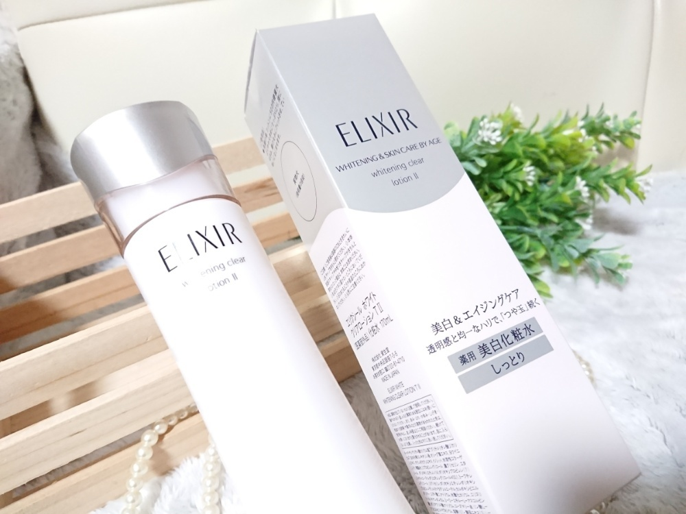 SHISEIDO 資生堂 エリクシール ホワイト クリアローション T I(化粧水)を使ったクチコミ(6枚目)