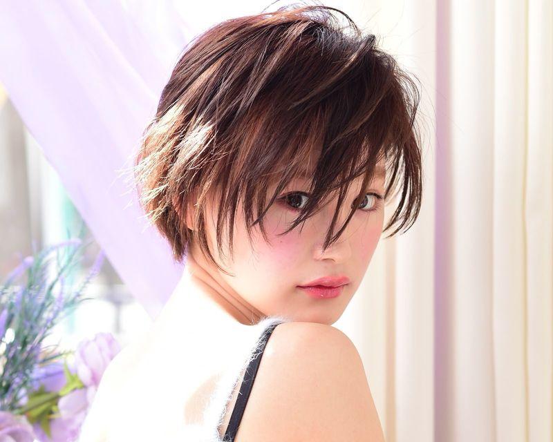 大人っぽい髪型が希望のあなたに…【ショートカットのヘアカタログ】
