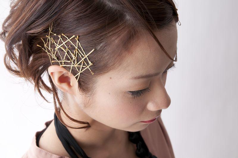 邪魔な伸ばしかけ前髪は【ピン】で解決♡簡単にできる前髪アレンジ集