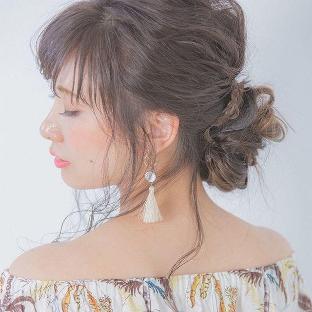 夏にやりたいまとめ髪「シニヨン」やり方&簡単グッズを習得せよ♡