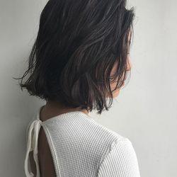 #黒髪 #オフィス #ミディアムヘア