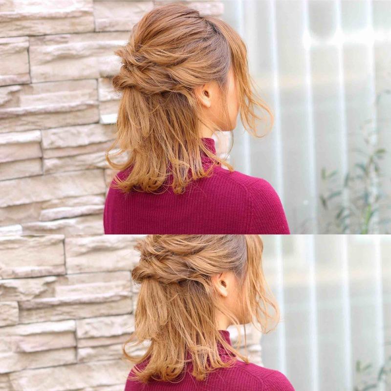 憧れ《編み込みヘア》やり方まとめ♡簡単かわいいヘアアレンジ24選