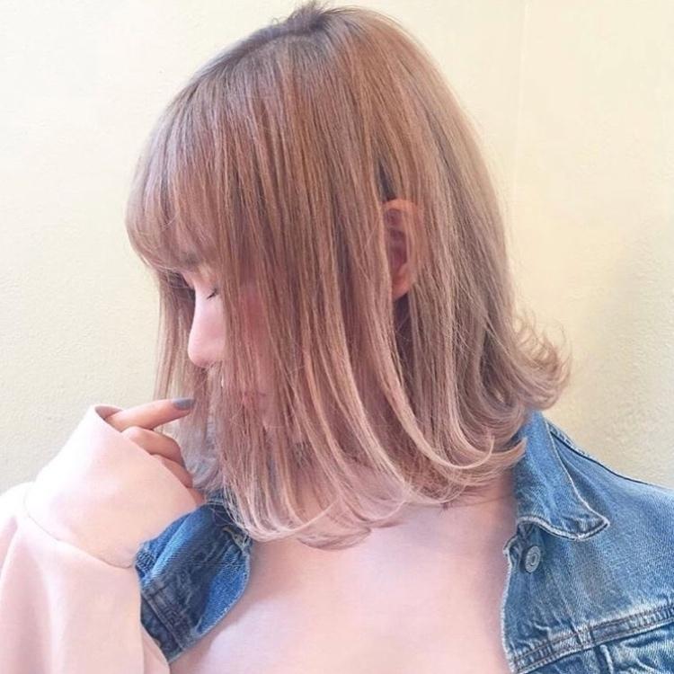 【隠れピンクで恋愛運up?】モテを狙えるピンクヘアカラーがツボ♡
