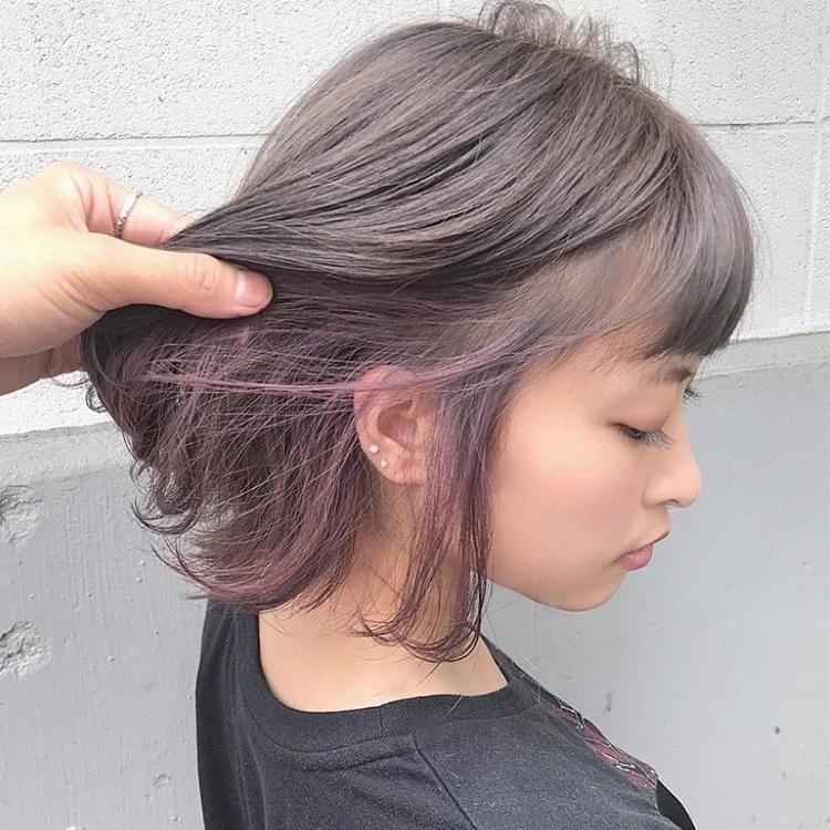 【レングス別27選】2021年版ピンクのインナーカラーにきゅん♡