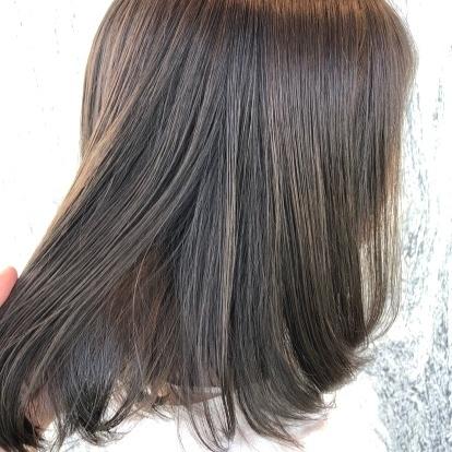 透明感と柔らかな質感の オリーブアッシュ🌟  #グラデーション #ヘアサロン#ヘアカラー#サロン #カラー#ヘアスタイル#ベージュカラー  #haircolor#ハイライト #グレージュ#グレージュカラー #ハイライトカラー#アッシュ #アッシュグレー#美容師#美容