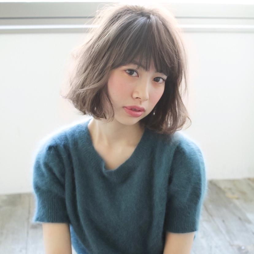 #ボブ #前髪 #ハイトーン