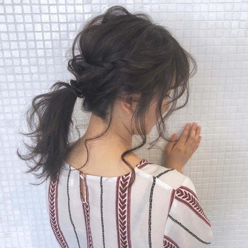 後れ毛でおしゃれ感を♡簡単な〈後れ毛×ポニーテール〉アレンジ特集