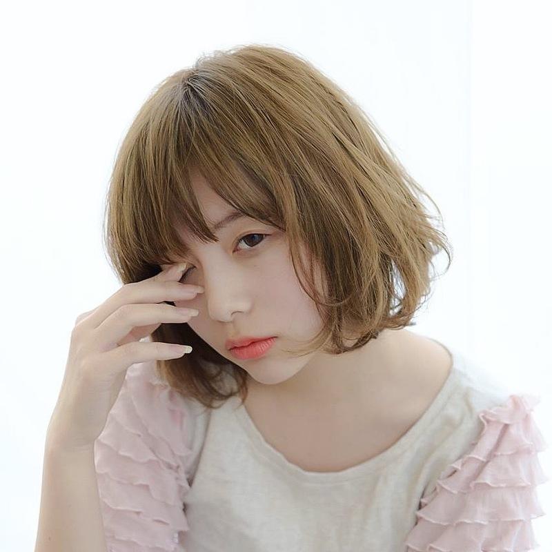 髪型は【ボブ×パーマ】で恋の予感♡ゆるふわ度たっぷりヘアカタログ
