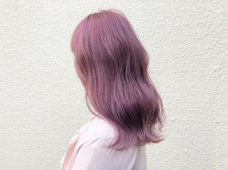 """""""紫""""がトレンド♡ガーリーな髪色で男女ウケをGETせよ!"""