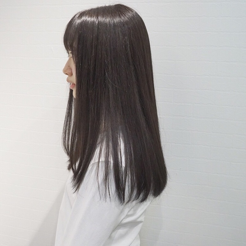黒髪ロングを透明感たっぷりに見せる方法♡今、試したいヘアカタログ   ARINE [アリネ]