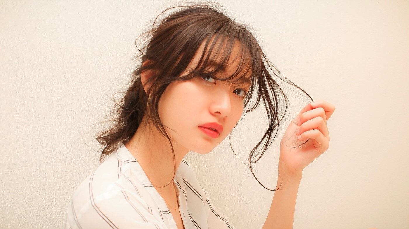 2018年の人気【大人かわいい前髪...