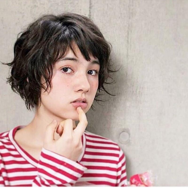 お茶目カワイイ♡オン眉×ショートヘアのヘアカタログ