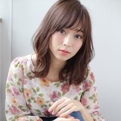 #ミディアム #大人かわいい #くびれミディ #前髪