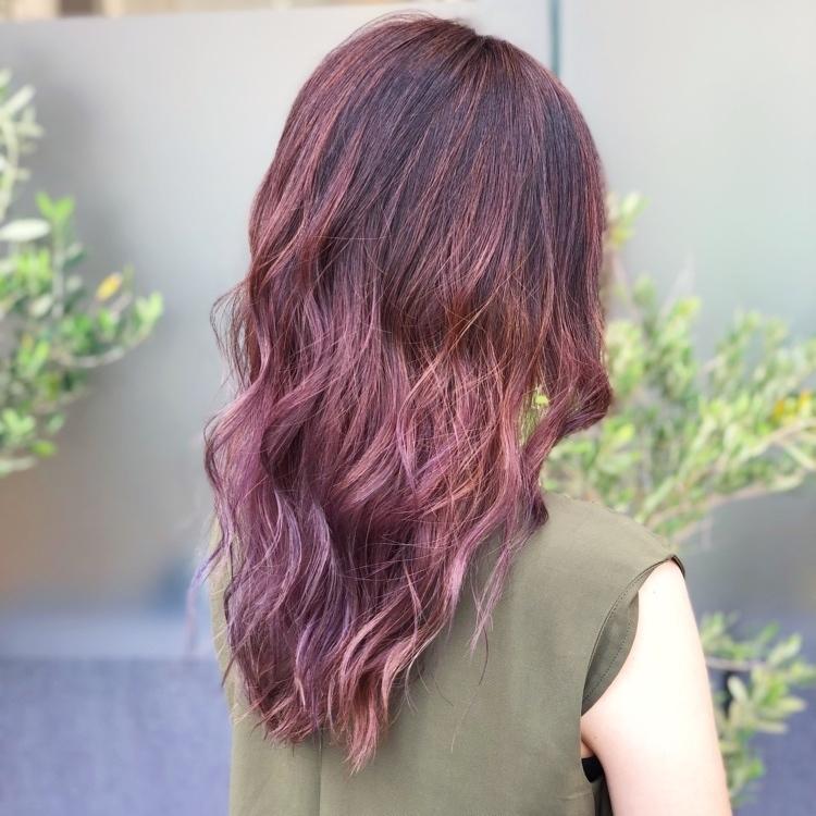 大人気 赤のヘアカラー ブリーチありなし レングス別髪色カタログ Arine アリネ