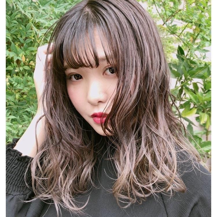 グラデーションカラーで私だけの髪色♡相性抜群の人気ヘアカラー特集