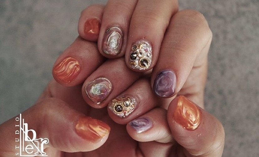 #ネイルデザイン #nails #nailart #nailfashion #ニュアンスネイル #ジェルネイル #個性派ネイル #シンプルネイル #arine_nail #arine_beauty