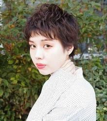 toshiyaatoさんのヘアカタログ・パーマスタイル・ショートに関するスナップフォト(ID:466289)
