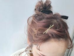 kawamura_takashi_cam ヘアアレンジ&ヘアセット 河村タカシ 前髪の見せピンアレンジ #hairarrangecam #hairarrange #hairset #hair #ヘアアレンジ #へアセット #ヘア #関西 #大阪 #心斎橋 #hairdresser #美容師 #サロンモデル募集 #サロモ #おくれ毛 #簡単ヘアアレンジ