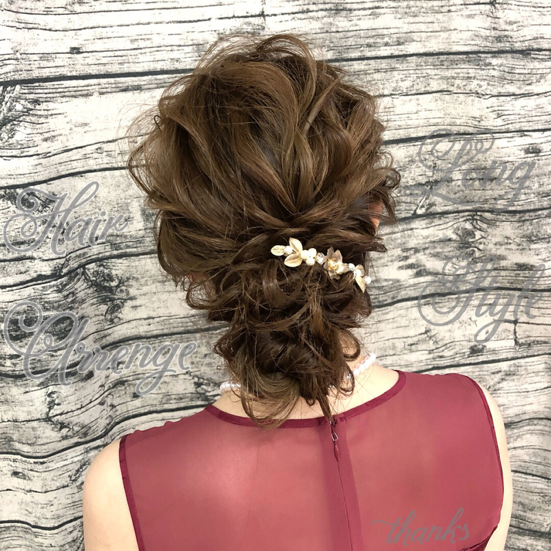 まとめ髪\u201d特集♡結婚式向けハーフアップから上品なアップヘア