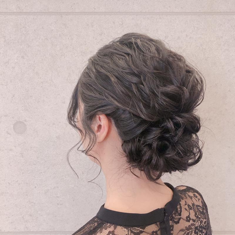 ショートボブ 結婚式ヘアアレンジ 華やか 大人なお呼ばれ髪型集
