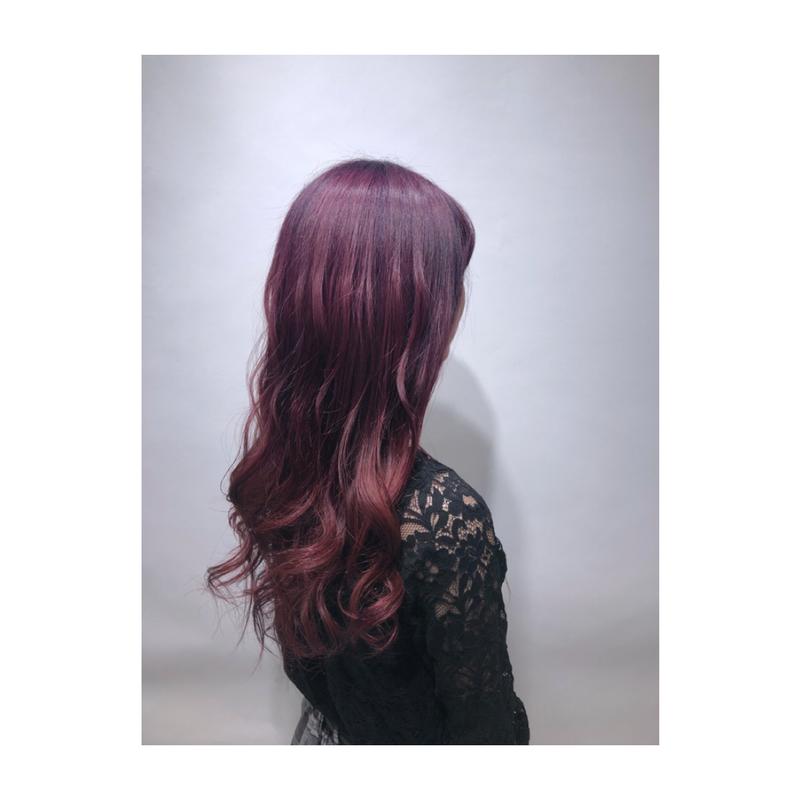 """【旬な髪色】ピンクアッシュで""""ブリーチなし""""でも作れるモテ髪に♡"""