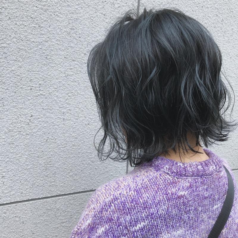 暗めの髪色が好みなの♡透明感あるダークブルージュで春色ヘア