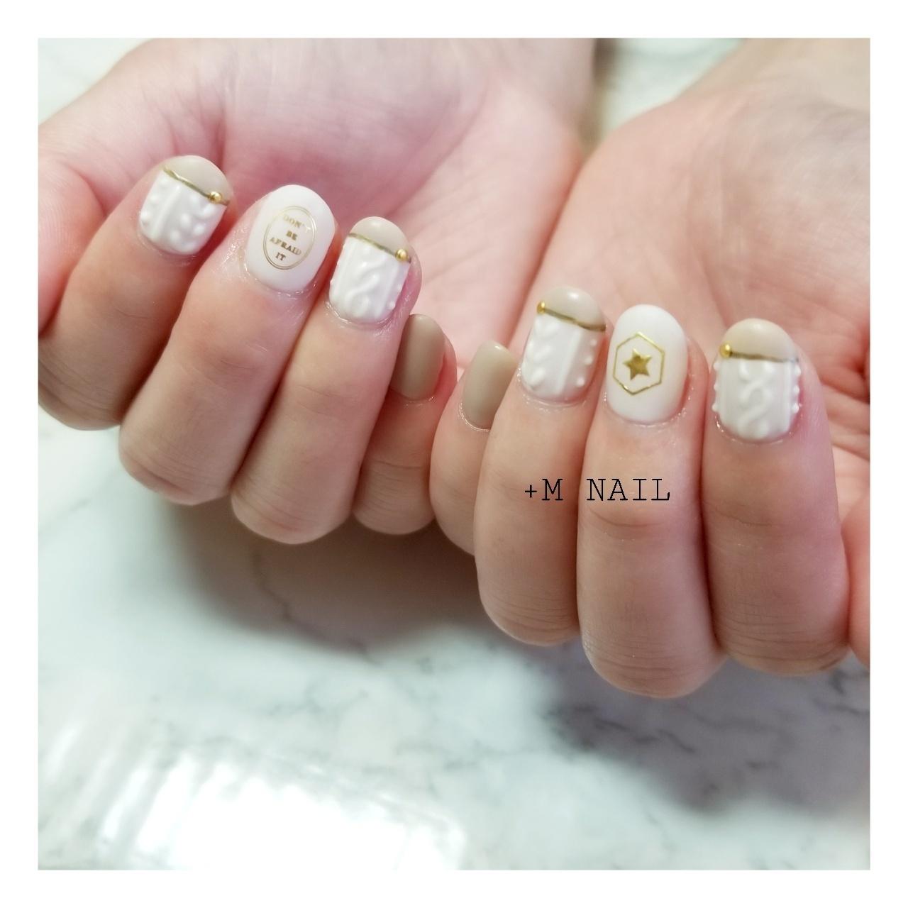 #nails #ジェル #ジェルネイル #ネイル #ネイルサロン #ネイルデザイン #ハンド #大人ネイル #大人可愛い #ニットネイル#マットネイル#バイカラーネイル#冬ネイル#カジュアルネイル#おしゃれネイル