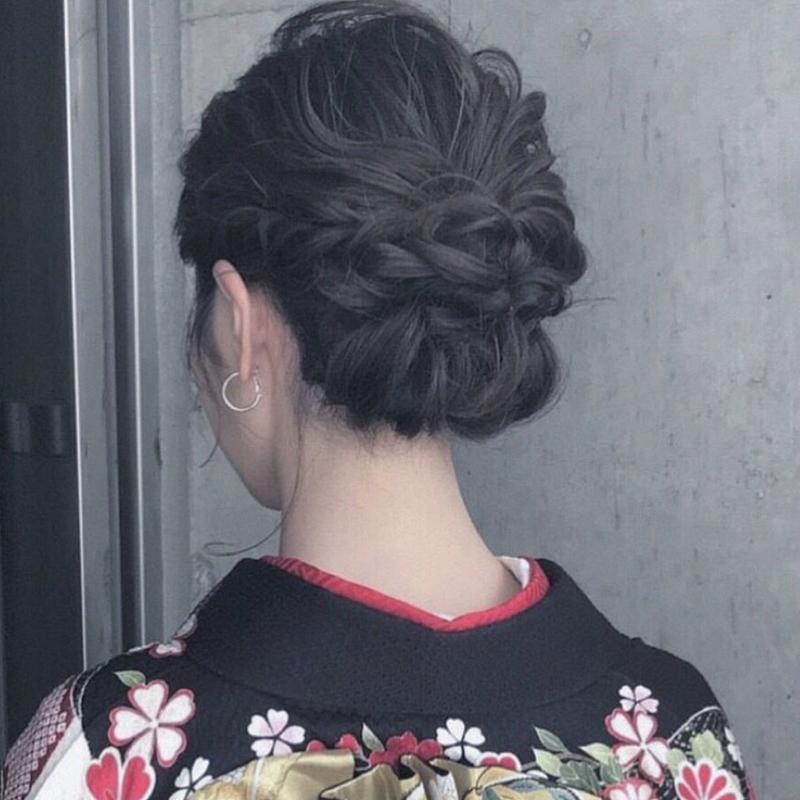 髪型 2020 成人 式