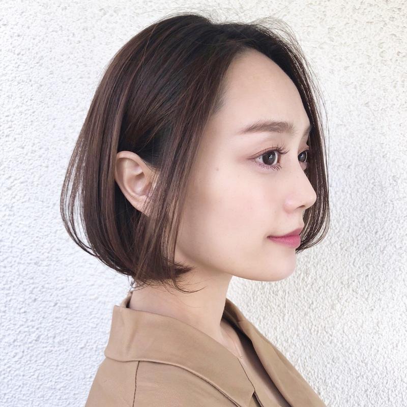 長 なし 面 ロング 前髪