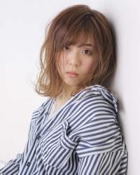 Masatoshi Yamanouchiさんのガーリー・ナチュラル・ボブに関するスナップフォト(ID:512773)